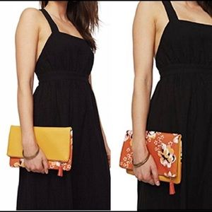 NEW Rachel Pally Reversible Clutch in Zahara print